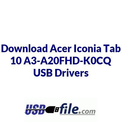Acer Iconia Tab 10 A3-A20FHD-K0CQ