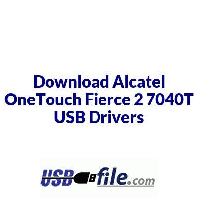 Alcatel OneTouch Fierce 2 7040T