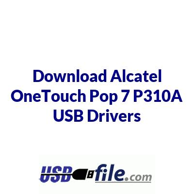 Alcatel OneTouch Pop 7 P310A