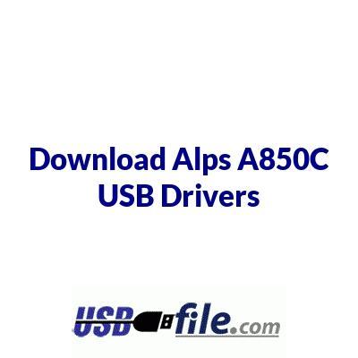 Alps A850C