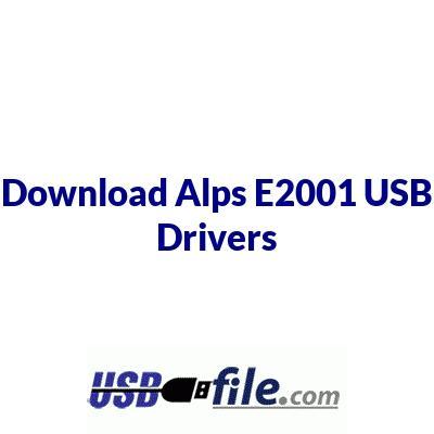 Alps E2001