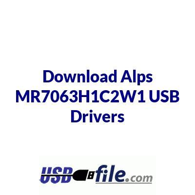 Alps MR7063H1C2W1