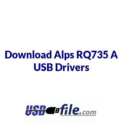 Alps RQ735 A