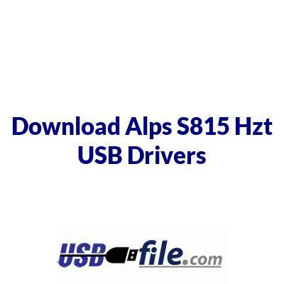 Alps S815 Hzt