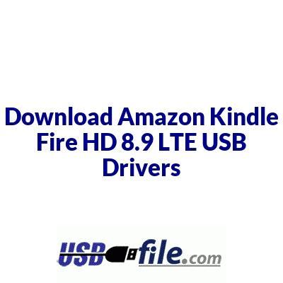 Amazon Kindle Fire HD 8.9 LTE