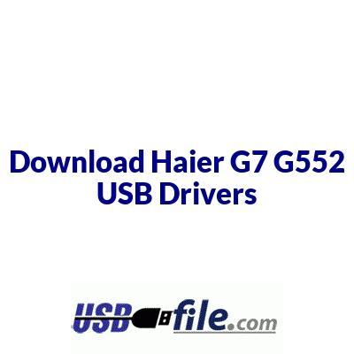 Haier G7 G552