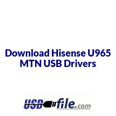 Hisense U965 MTN