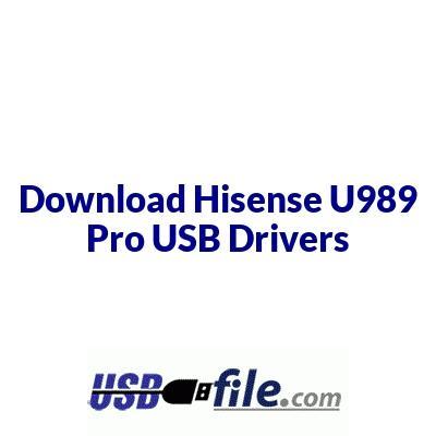 Hisense U989 Pro