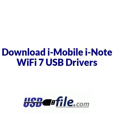 i-Mobile i-Note WiFi 7