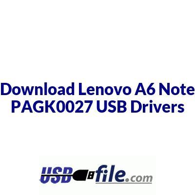 Lenovo A6 Note PAGK0027