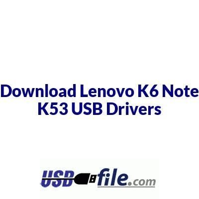 Lenovo K6 Note K53