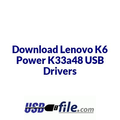 Lenovo K6 Power K33a48
