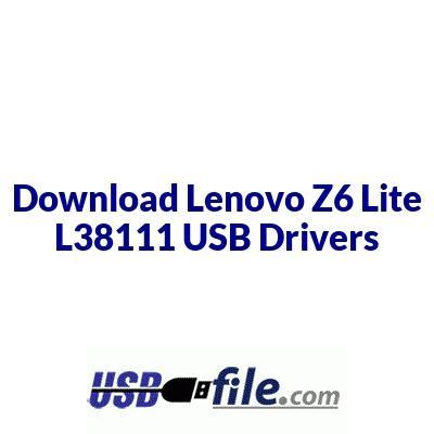 Lenovo Z6 Lite L38111