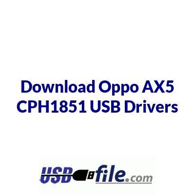 Oppo AX5 CPH1851