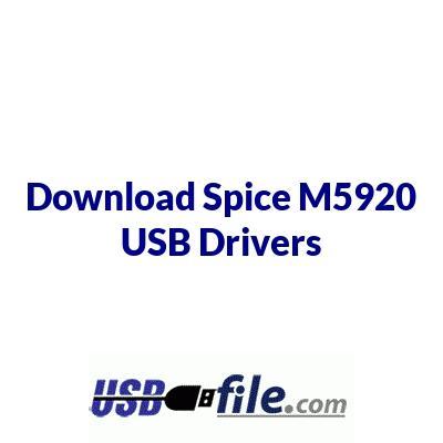 Spice M5920