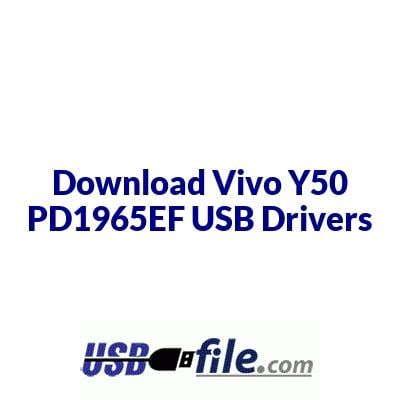 Vivo Y50 PD1965EF