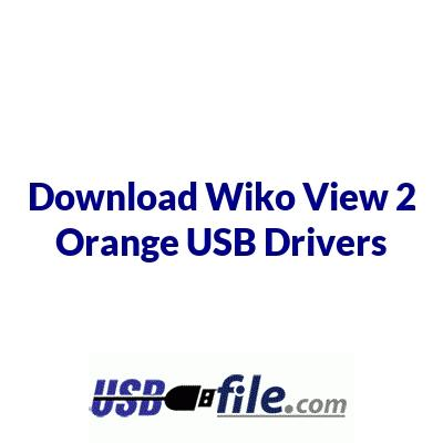 Wiko View 2 Orange