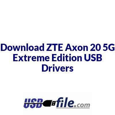 ZTE Axon 20 5G Extreme Edition